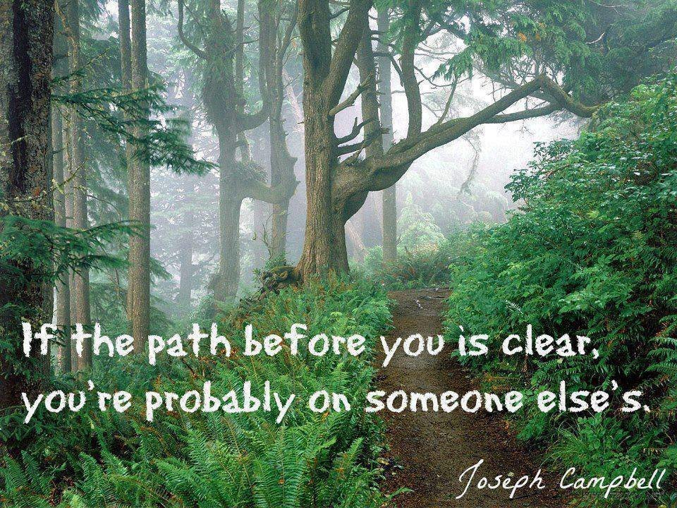 path before clear joseph campbell