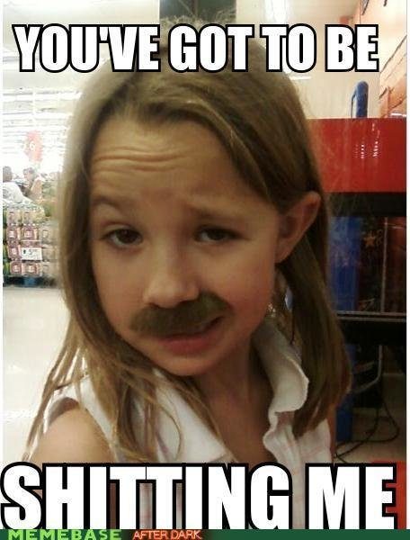 the stache - funnies for you lolaholics