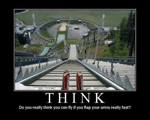 think - demotivational posters 2010