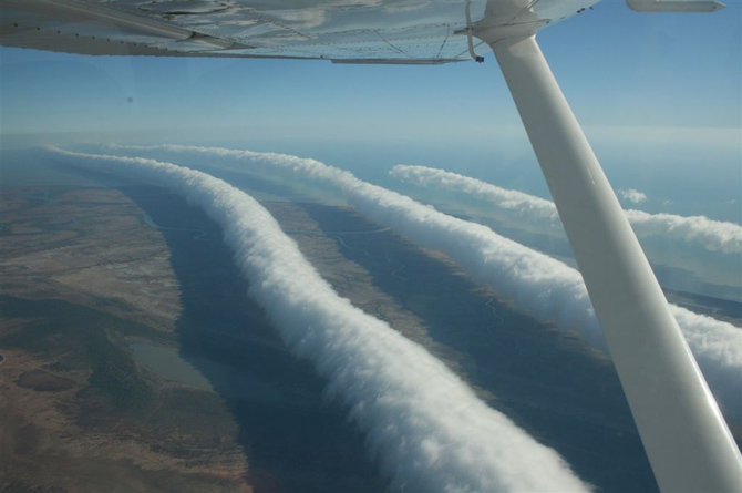 think these clouds will impress