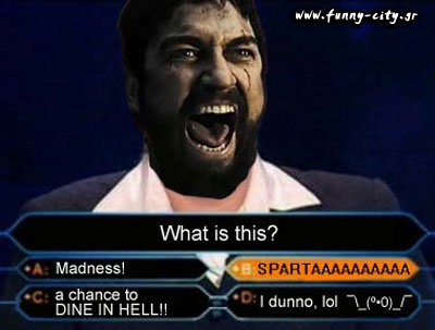 this is sparta 7 - this is spartan