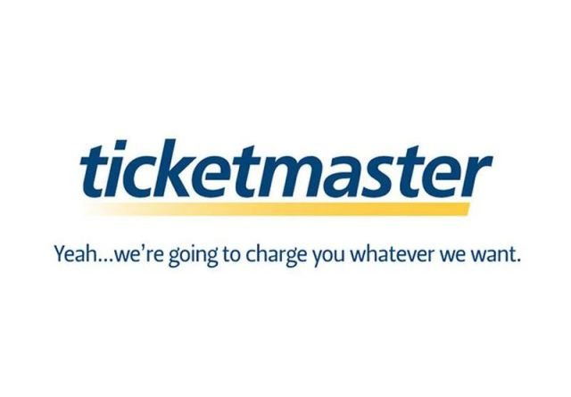 ticketmaster - if company logos would tell us truth