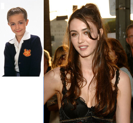 til youngest kid from quotthe nannyquot chick from californication same