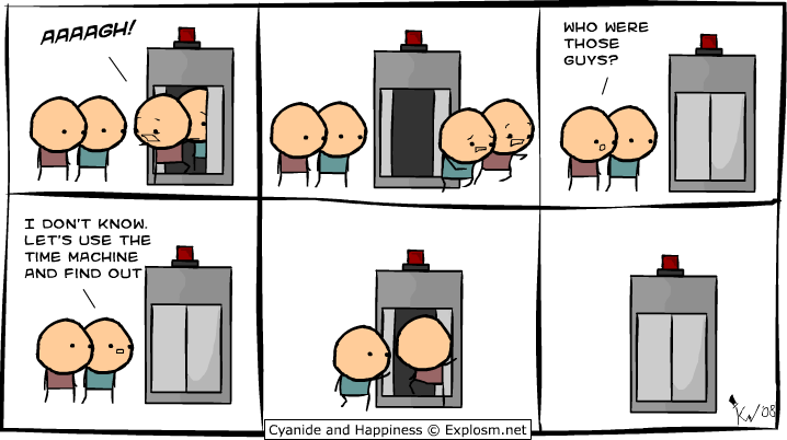 time - cyanide and happiness collection 1