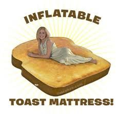 toast bed