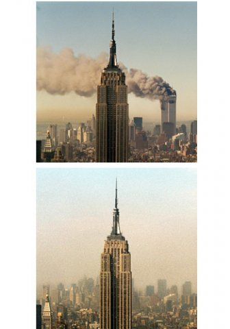 towers20before20and20after209 11 - the world trade center