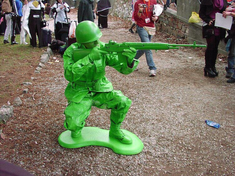 toy soldier cosplay