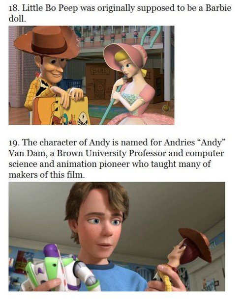 toystory10 - 33 things you probably didn't know about the toy story trilogy