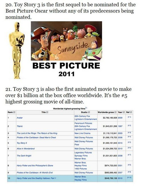 toystory11 - 33 things you probably didn't know about the toy story trilogy