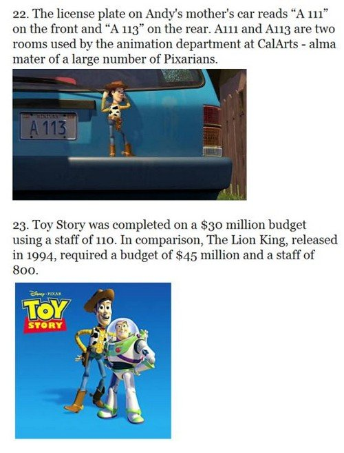 toystory12 - 33 things you probably didn't know about the toy story trilogy