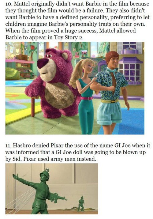 toystory6 - 33 things you probably didn't know about the toy story trilogy
