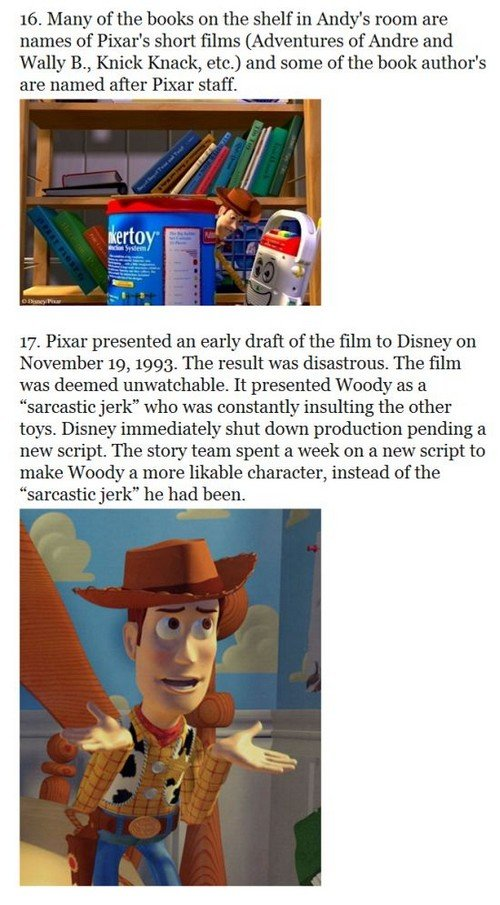 toystory9 - 33 things you probably didn't know about the toy story trilogy