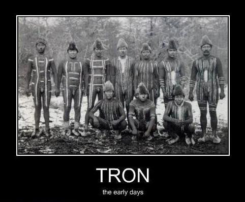 tron early days