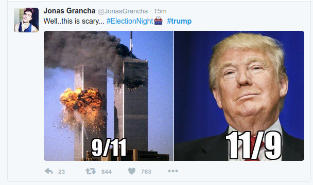 trump 911 - internet reacts to 45th us president donald trump