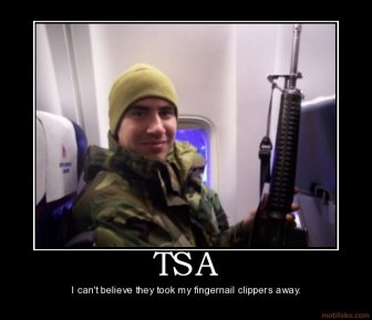 tsa funny military demotivational poster