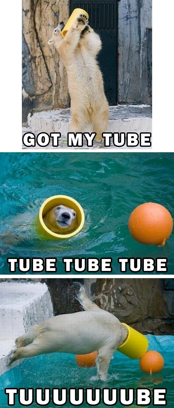 tube - its gonna be a long week