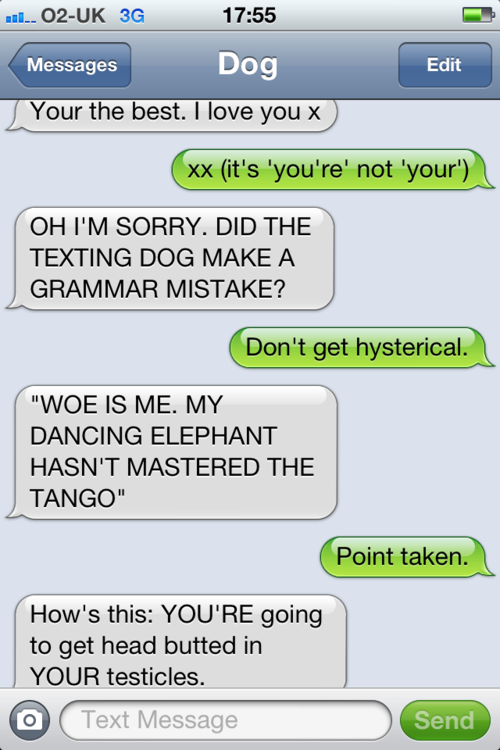 tumblr m378i4yg4n1rt9zy5o1 500 - i can't come up with anymore interesting titles, so here's texts from dog.