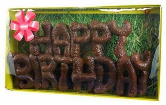 turd cakes for your friends birthday party