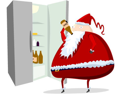 two - what santa really does when you're sleeping