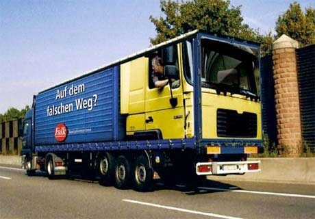 two sided truck