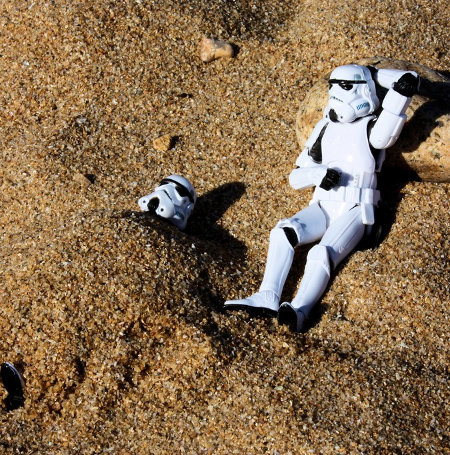 vacation 8 - storm troopers day off...