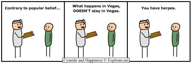 vegas - some  c&h to brighten your day