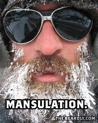 vertical beardly mansulation