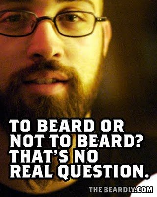 vertical beardly question