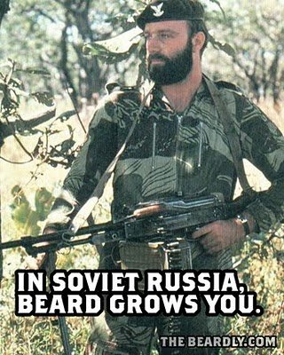 vertical beardly russia