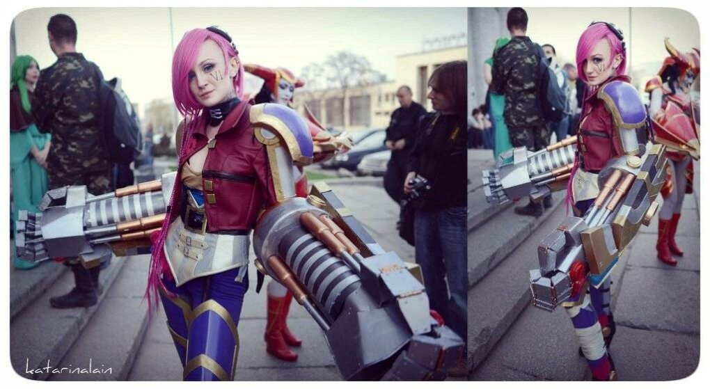vi cosplay - sexiest league of legends cosplay girls 2014