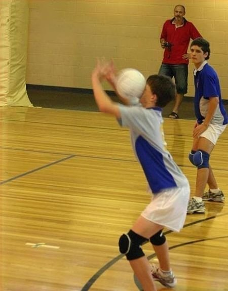 volleyball miss