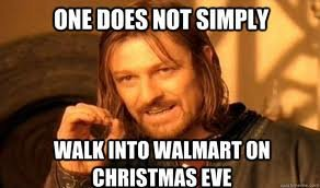 wal - one does not simply....