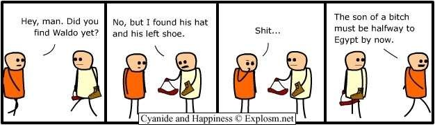 waldo2 - cyanide and happiness collection 1