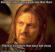 walm - one does not simply....
