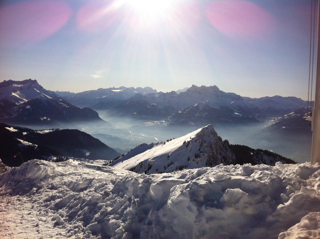 told come picture took couple years back view from schilthorn switzerland