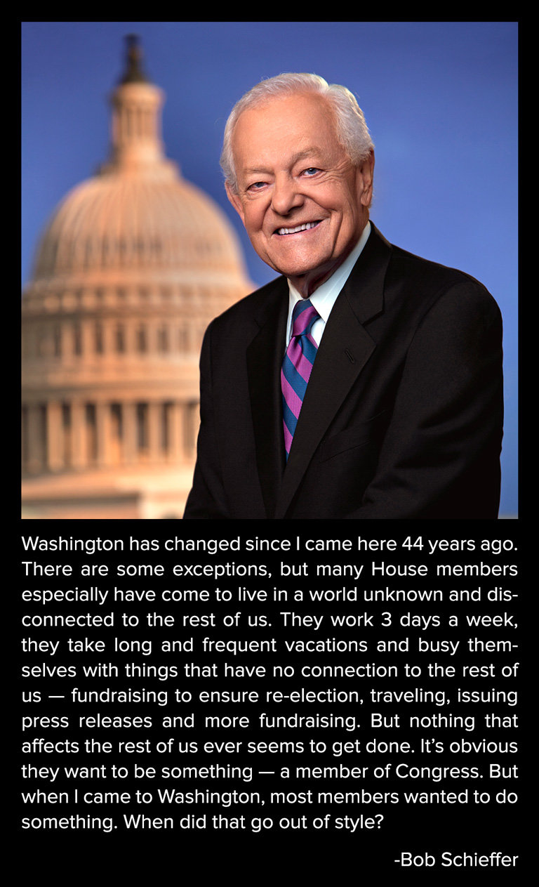 washington changed came years ago bob schieffer