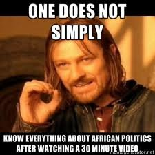 watch - one does not simply....