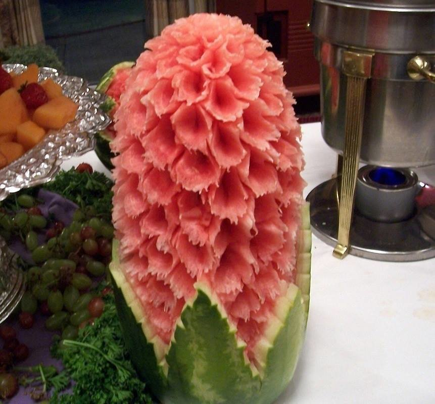 watermelon - summer snack: check out this amazing watermelon carvings