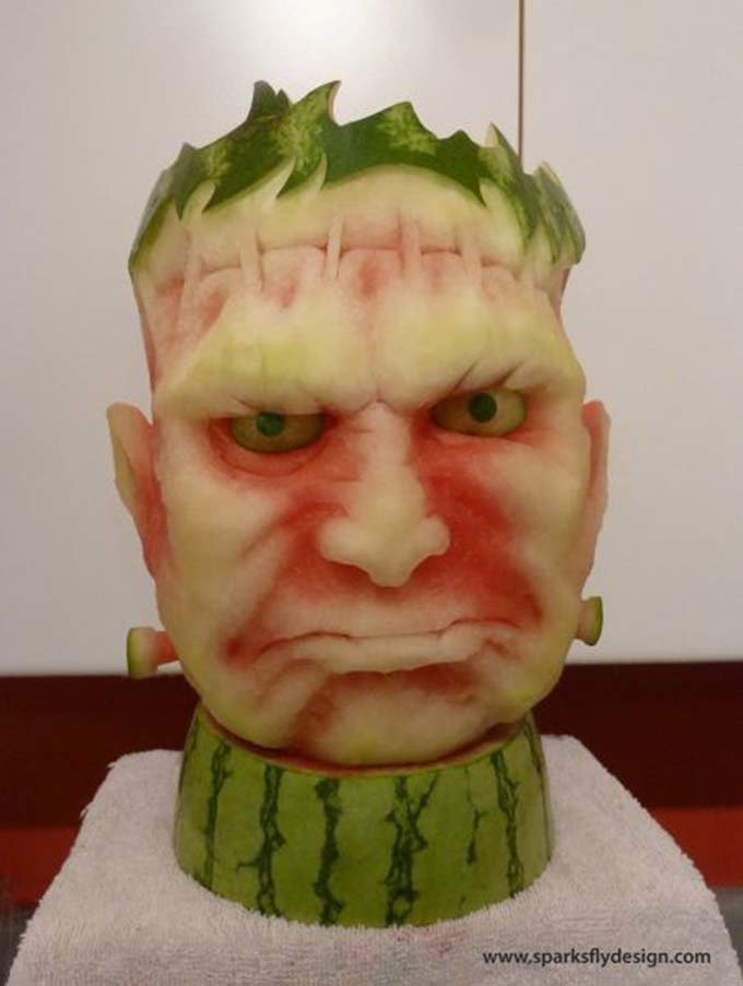 watermelon creepy