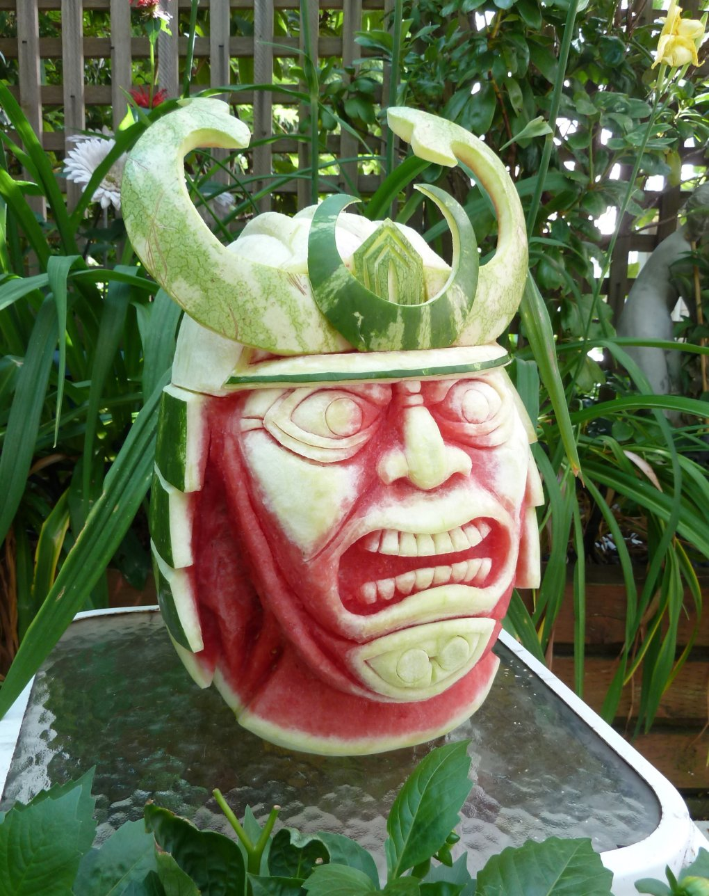 watermelon samurai