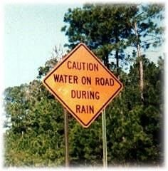 wateronroad - funny sign