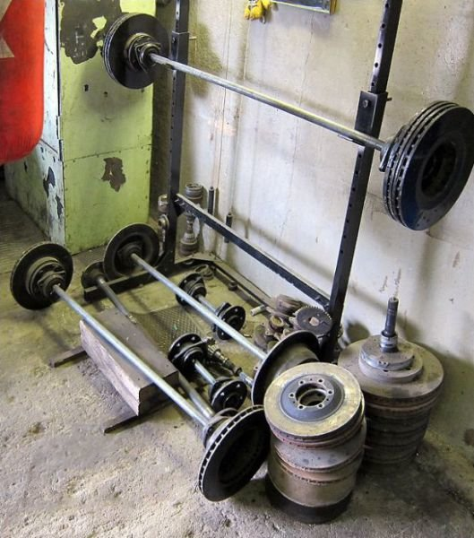 weight training equipment