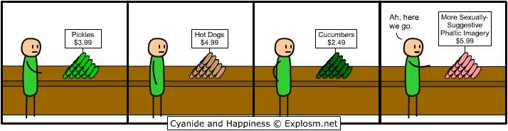 weiners - cyanide and hapiness depressing comic week 1