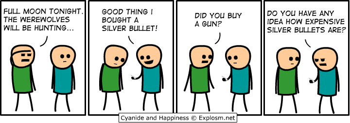 werewolf - cyanide and happiness...yes even more.
