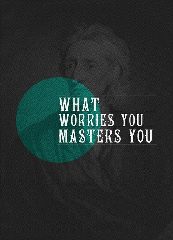 what worries masters john locke