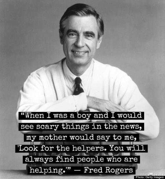 when boy would see scary things news fred rogers