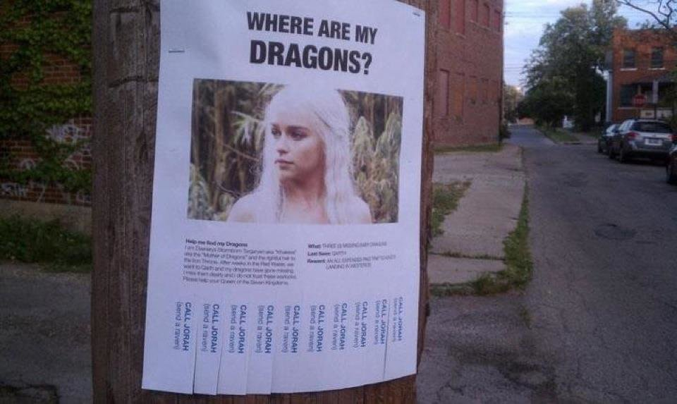 where are dragons
