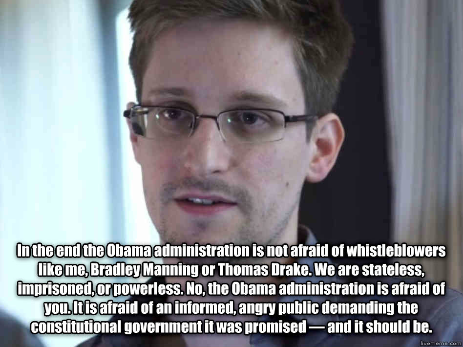 whistleblowers like edward snowden