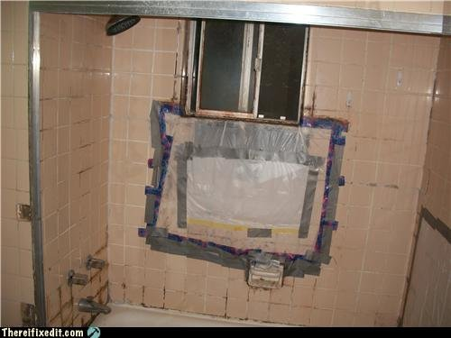 white trash repairs fix for mold lovers