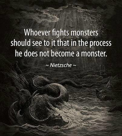 whoever fights monsters friedrich nietzsche
